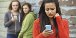 Teenage girl falls victim to cyberbullying